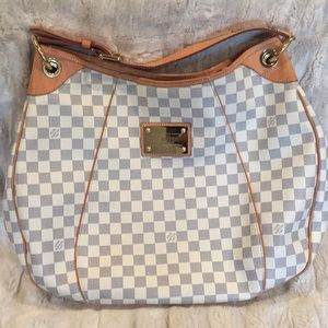 Louis Vuitton Galliera Damier Azur hobo bag